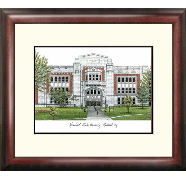 NCAA Morehead State University Alumnus Framed Photographic Print by Campus Images