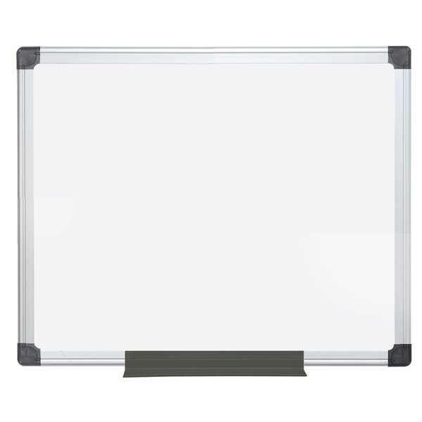 Value Melamine Dry Erase Wall Mounted Whiteboard by Mastervision