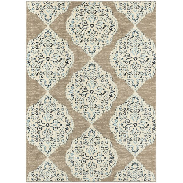 Woburn Backless Tan Indoor/Outdoor Area Rug by Bungalow Rose Bungalow Rose