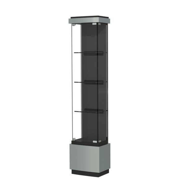 Quantum Series Floor Display Case by Waddell