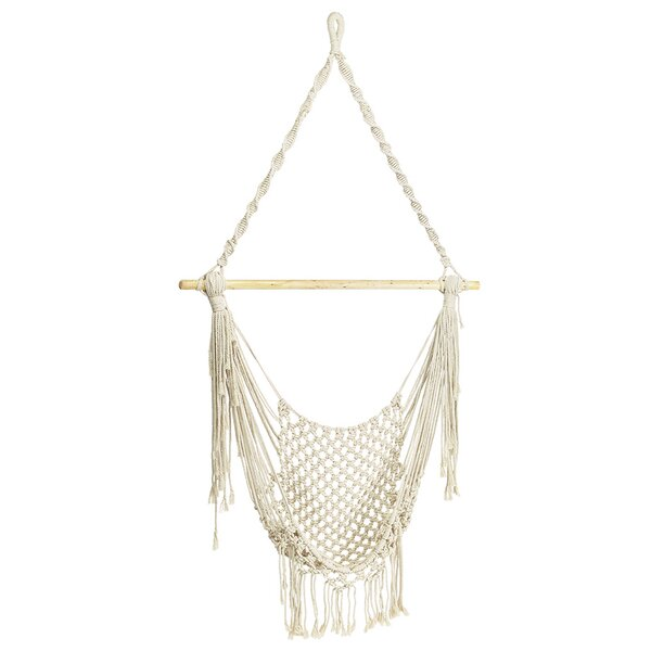 Wansley Hanging Chair Hammock by Bungalow Rose Bungalow Rose