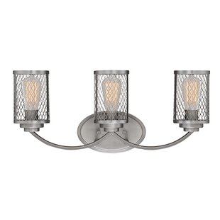 Find for Bastien 3-Light Vanity Light By Williston Forge