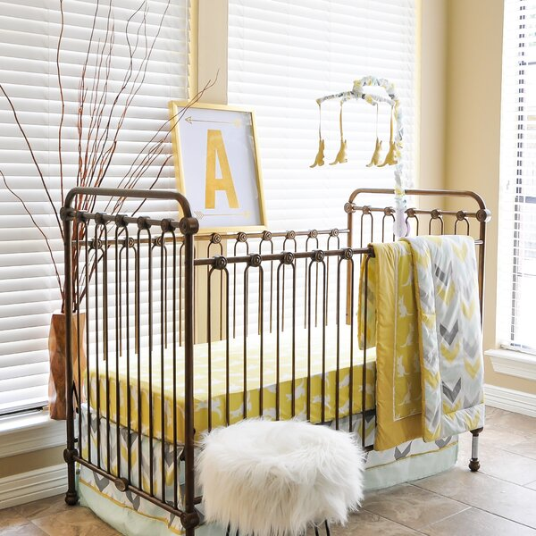 Cadence 6 Piece Crib Bedding Set by Viv + Rae