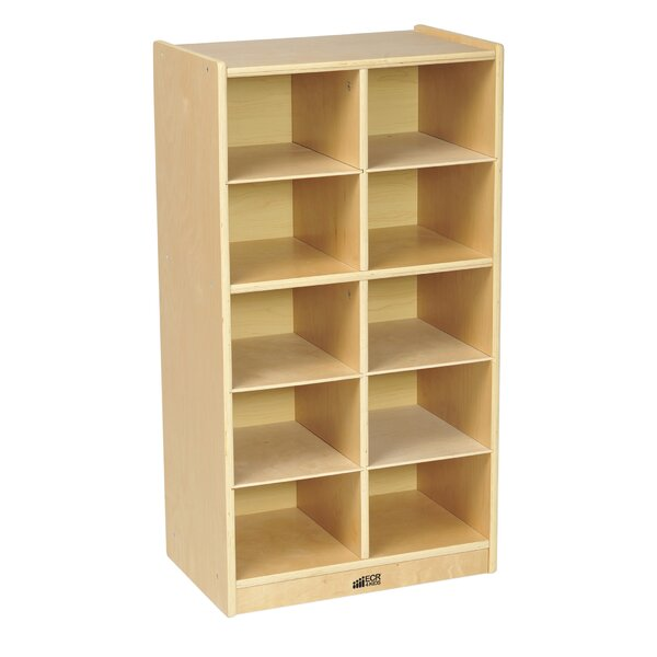 10 Compartment Cubby with Casters by ECR4kids