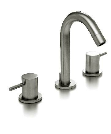 Retro Lever Widespread Bathroom Faucet with Drain Assembly