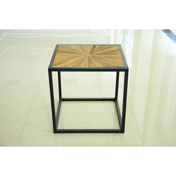Tindle Frame End Table By 17 Stories