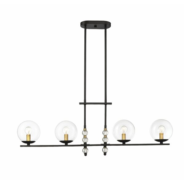 Hargraves 4-Light Kitchen Island Pendant by Ivy Bronx