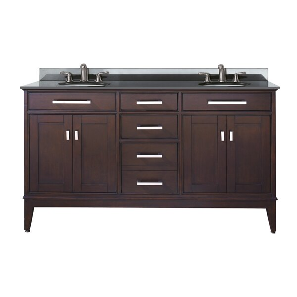 Northfield 61 Double Bathroom Vanity Set by Andover Mills