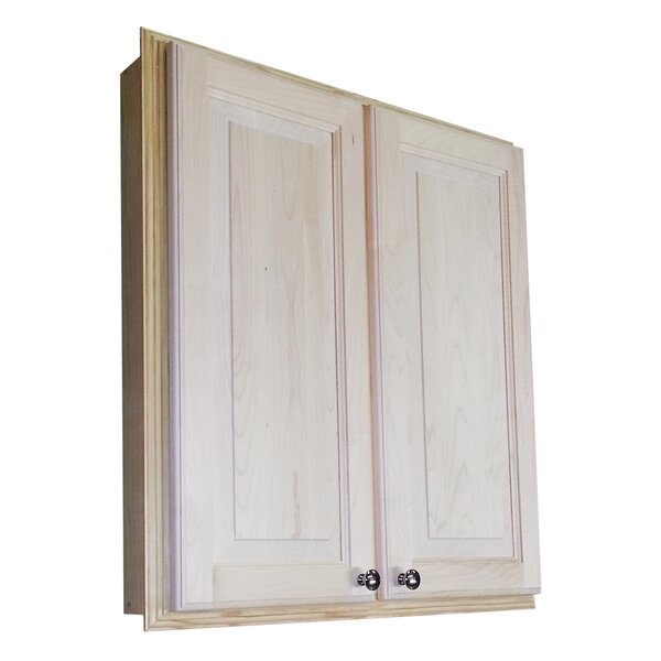 Baldwin 29.5 W x 31.5 H Recessed Cabinet by WG Wood Products