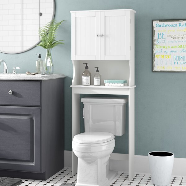 23.63 W x 62 H Over the Toilet Storage by Rebrilliant