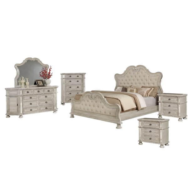Ollis Standard 6 Piece Bedroom Set by Astoria Grand