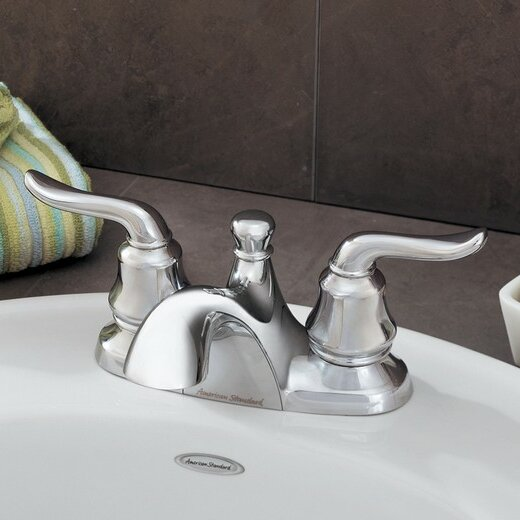 Princeton Centerset Bathroom Faucet with Drain Assembly by American Standard