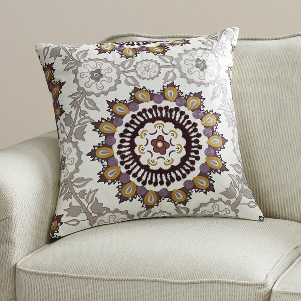 Horka Throw Pillow by Bungalow Rose