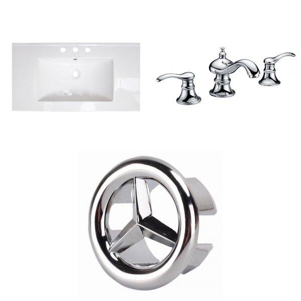 Flair Ceramic 32 Single Bathroom Vanity Top