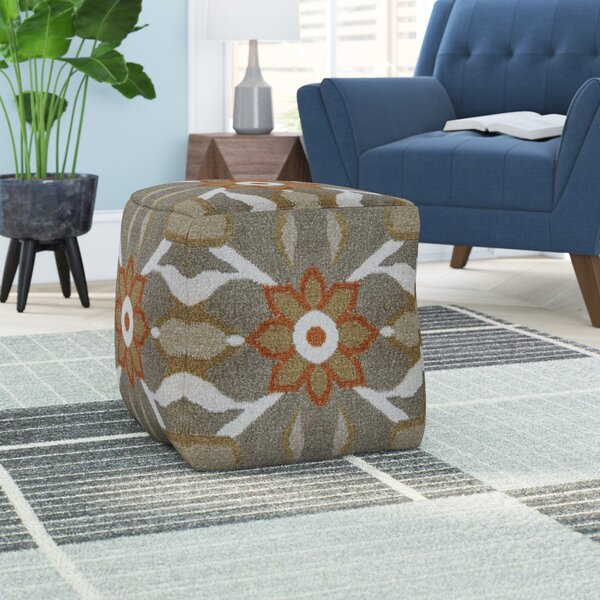 Barbeau Pouf by Bungalow Rose