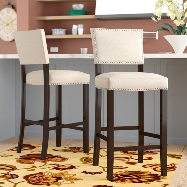 Cleveland 30.5 Bar Stool (Set of 2) by Alcott Hill