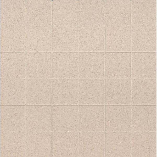 Optima 2 x 2 Porcelain Mosaic Tile in Beige by MSI