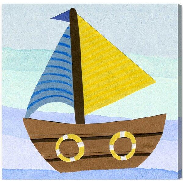Aja Boat Canvas Art by Harriet Bee