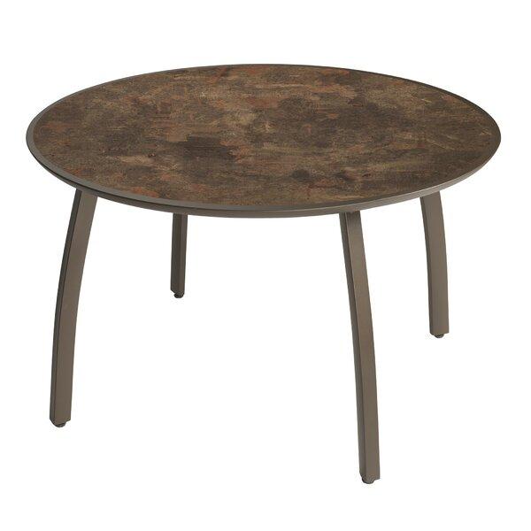 Leighann Round Dining Table by Orren Ellis