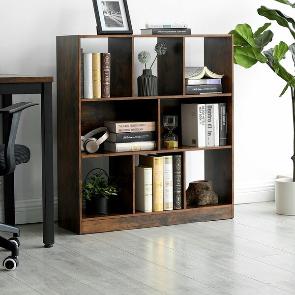 Ballance Wooden Standard Bookcase By Millwood Pines