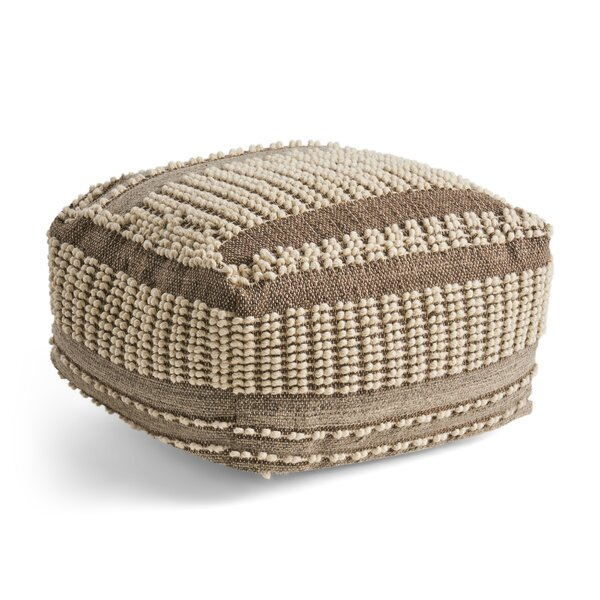 Maas Tufted Pouf by Bungalow Rose
