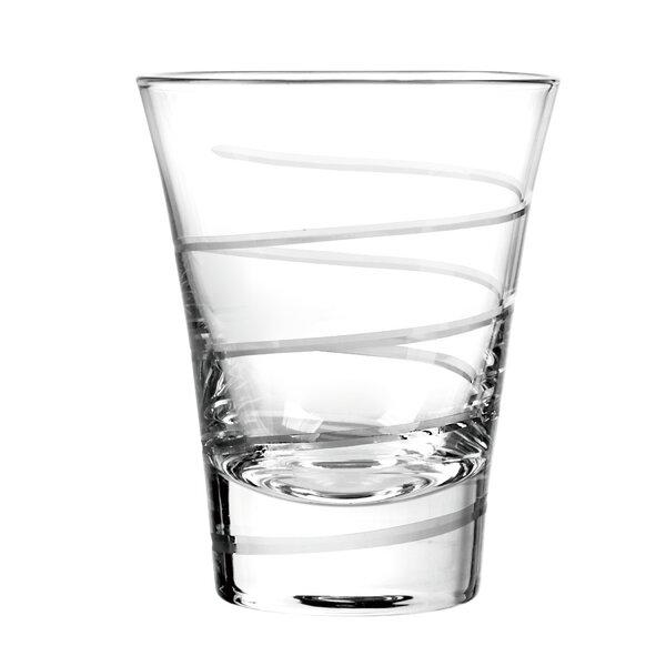 Vortex DOF Glass (Set of 4) by Qualia Glass