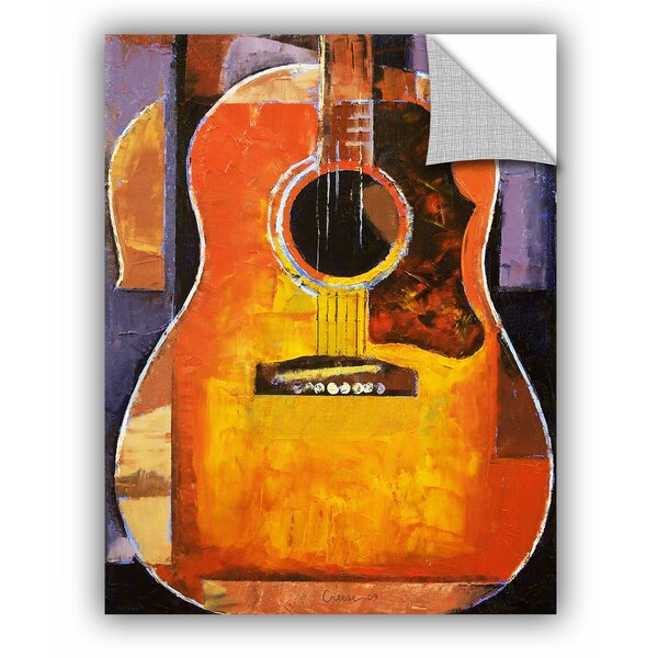 Michael Creese Guitar Wall Decal by ArtWall