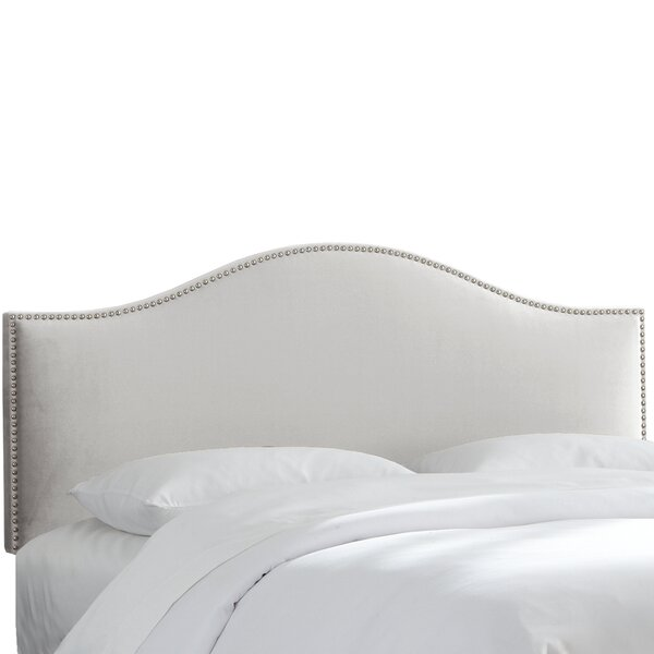 Hendry Nail Button Upholstered Panel Headboard by Rosecliff Heights