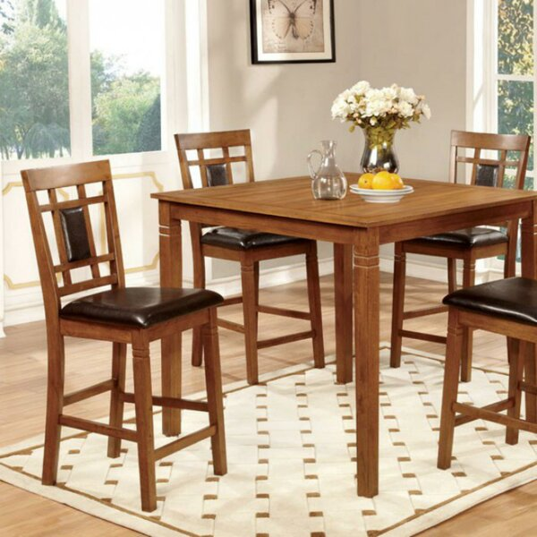 #2 Beetham 5 Piece Counter Height Dining Table Set By Bloomsbury Market Top Reviews