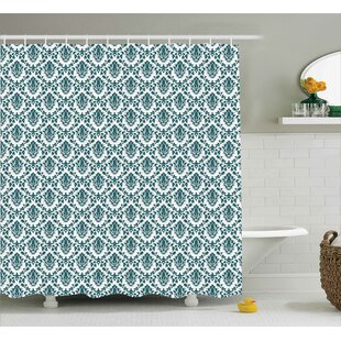 Toned Floral Shower Curtain