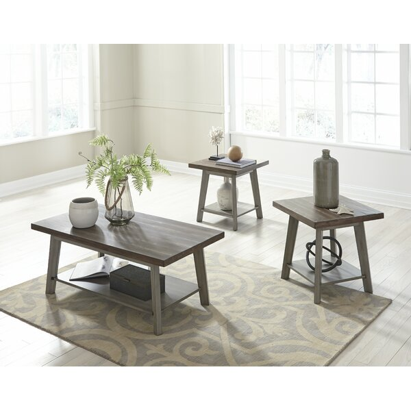 Addis 3 Piece Coffee Table Set by One Allium Way One Allium Way®
