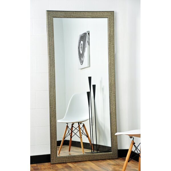Subway Silver Elite Tall Accent Wall Mirror by Brandt Works LLC