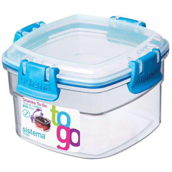 Snacks To Go Food Storage Container by Sistema USA