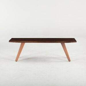 Phoenix Wood Bench by World Interiors