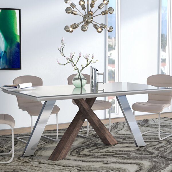 Kellie Dining Table by Wade Logan