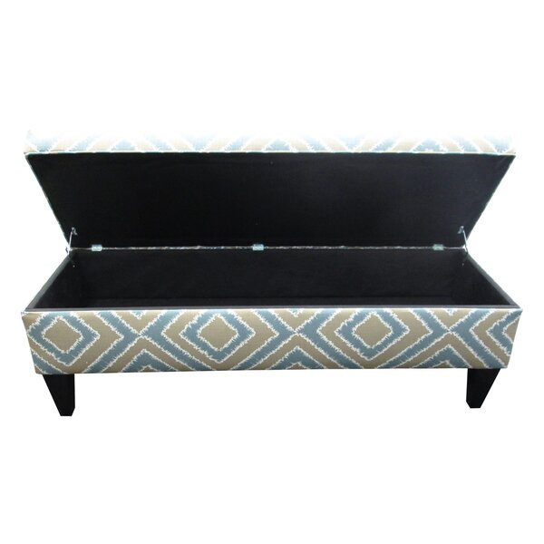 Regis Fabric Storage Bench by Red Barrel Studio