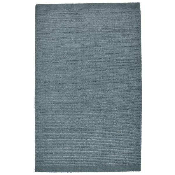 Amalia Gray/Blue Indoor/Outdoor Area Rug by Ebern Designs
