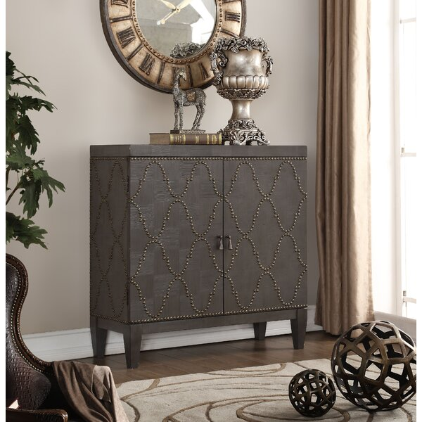 Lovitt 2 Door Accent Cabinet by Bungalow Rose Bungalow Rose