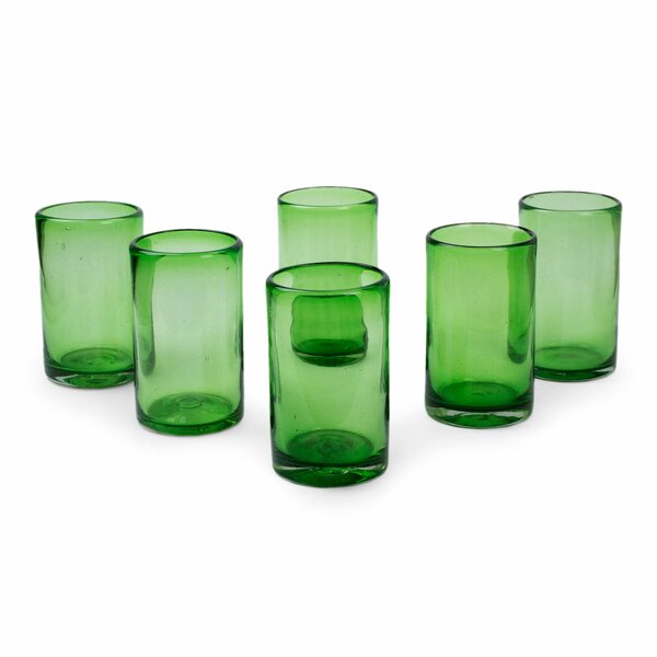 Hand Blown 13 Oz. Highball Glass (Set of 6) by Novica