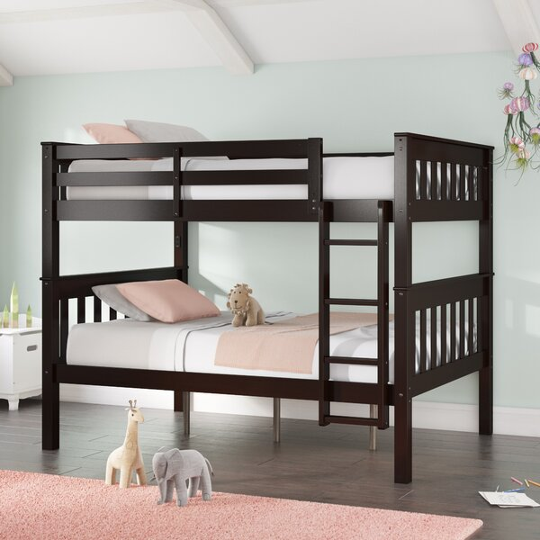 AlmedaCheatham Full Over Full Bunk Bed by Harriet Bee