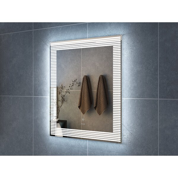 Aldarondo LED Bathroom/Vanity Mirror by Ebern Designs