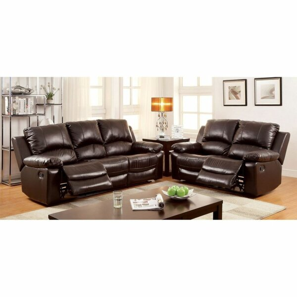 Julianna 2 Piece Leather Reclining Living Room Set by Red Barrel Studio