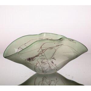 Horizon Art Glass Serving Bowl