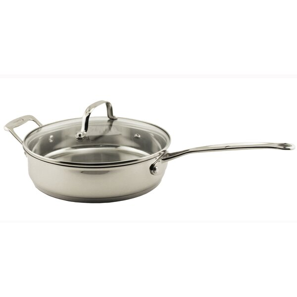 Earthchef 10 Copper-Core Non-Stick Skillet with Lid by BergHOFF International