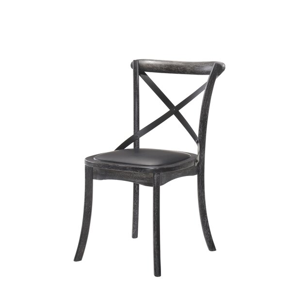 Herefordshire Upholstered Dining Chair (Set of 2) by Three Posts