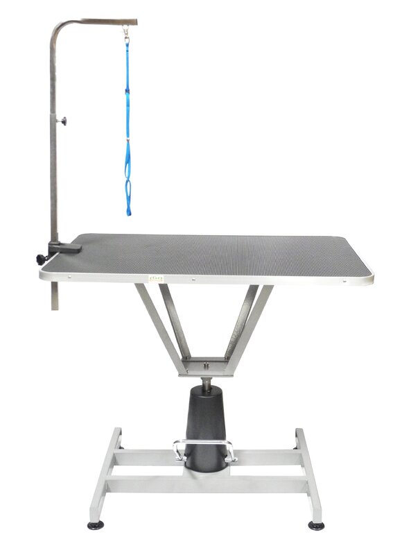 Hydraulic Dog Grooming Table With Arm