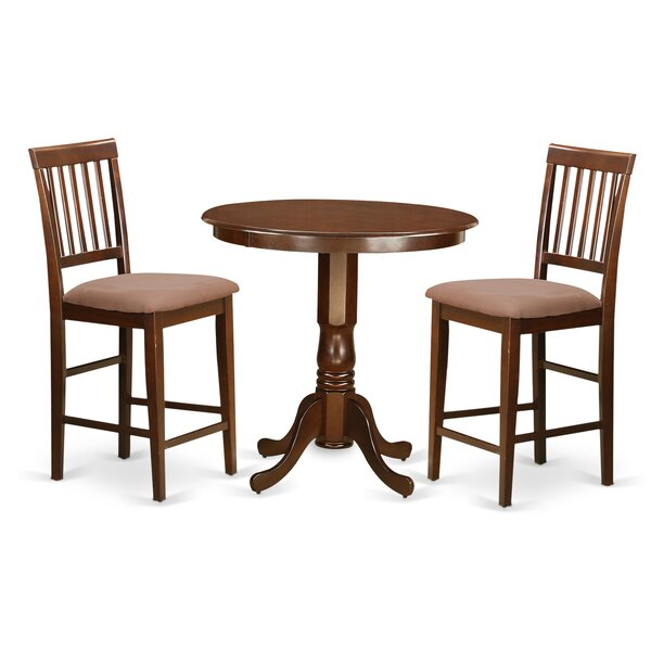Speights 3 Piece Counter Height Pub Table Set by Charlton Home Charlton Home