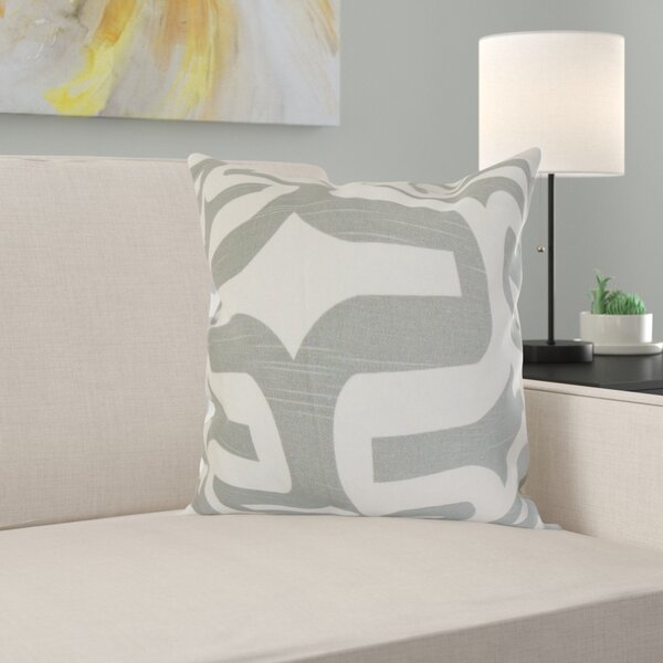 Eleonore Geometric Cotton Throw Pillow by Zipcode Design