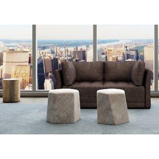 Inexpensive Frampton Upholstery Modular Loveseat By Latitude Run