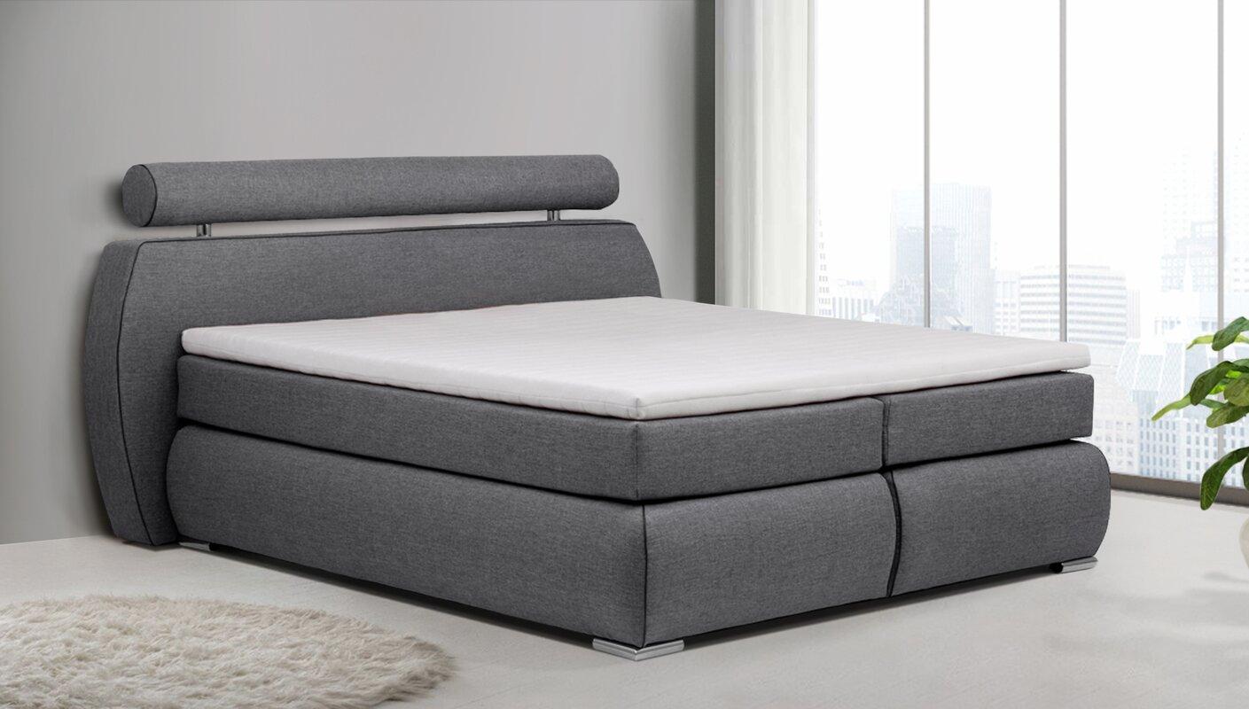 home haus boxspringbett deua mit topper. Black Bedroom Furniture Sets. Home Design Ideas